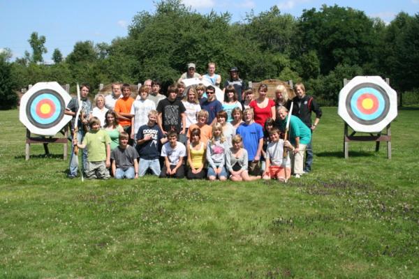 Zum Vergrößern bitte das Bild anklicken Gästeschießen CVJM Lübbecke 2008