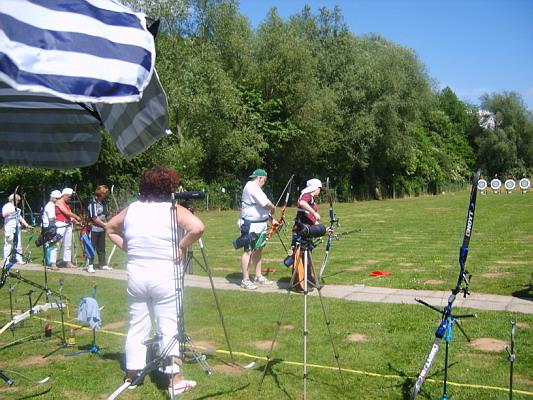 Zum Vergrößern bitte das Bild anklicken Gaumeisterschaft FITA 2008
