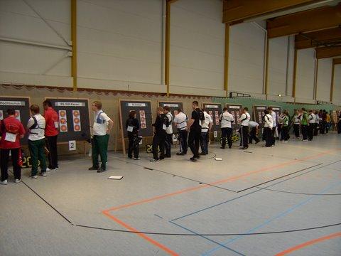 Zum Vergrößern bitte das Bild anklicken Liga in Kassel 2012