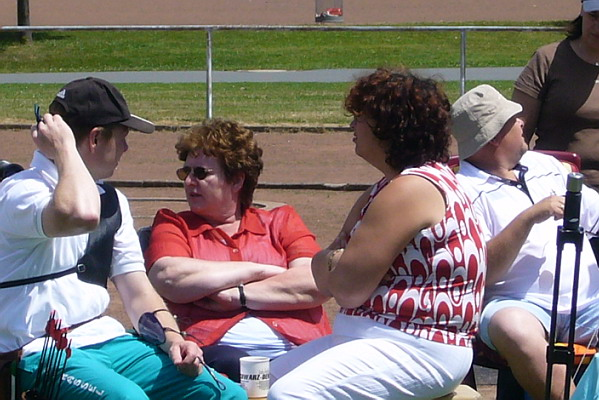 Zum Vergrößern bitte das Bild anklicken Landesmeisterschaft FITA 2008