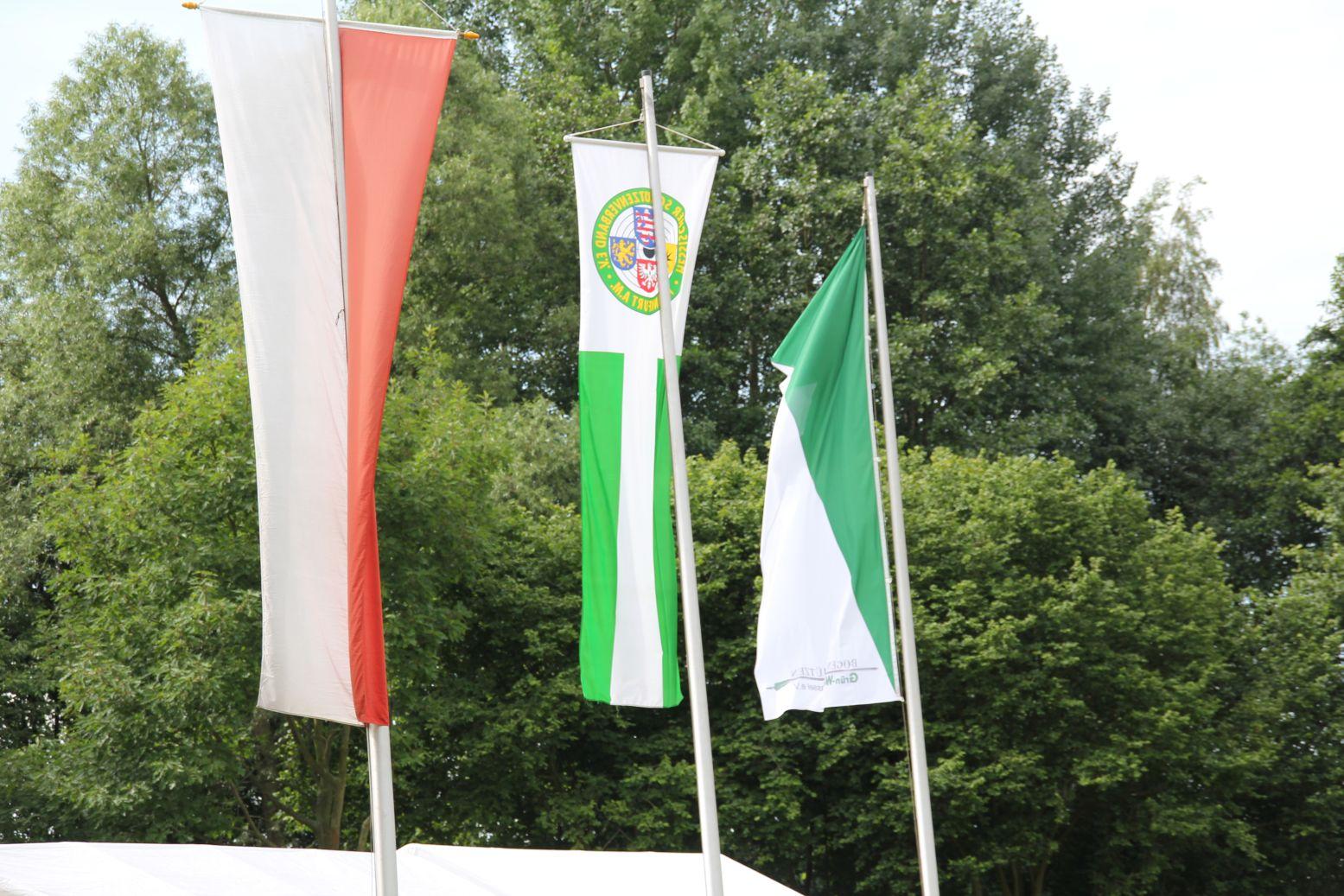 Zum Vergrößern bitte das Bild anklicken Landesmeisterschaft FITA 2012