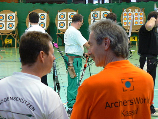 Zum Vergrößern bitte das Bild anklicken Landesmeisterschaft Halle 2007