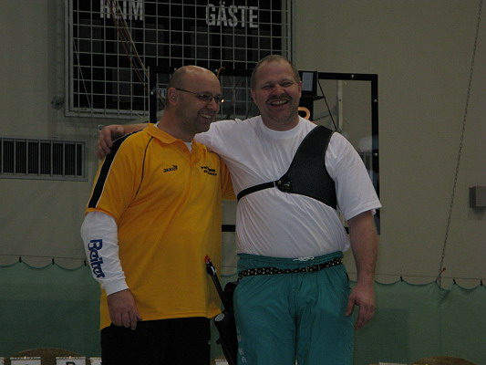 Zum Vergrößern bitte das Bild anklicken Landesmeisterschaft Halle 2008