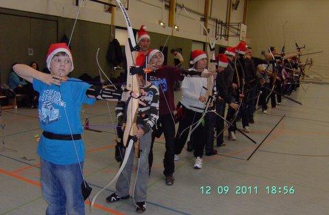 Zum Vergrößern bitte das Bild anklicken Nikolausschießen 2011
