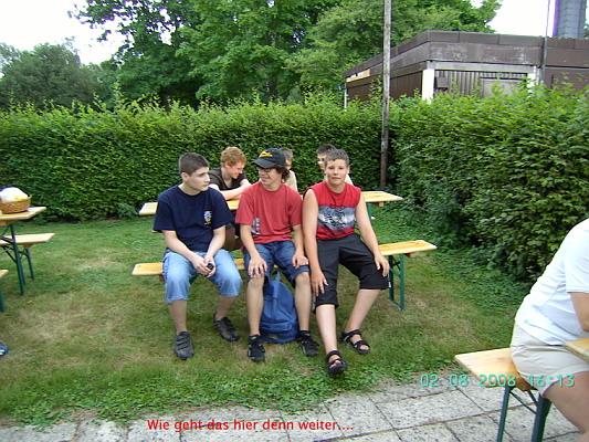 Zum Vergrößern bitte das Bild anklicken Sommerfest 2008
